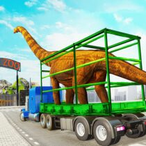 Dino Transport Truck Games: Dinosaur Game 1.5b bAPK Free Download MOD for android