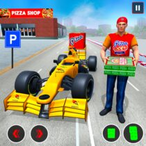 Formula Car Pizza Delivery New Car Driving Game 1.1.0  APK Free Download MOD for android