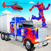 Grand Police Truck Robot War Transform Robot Games 45 APK Free Download MOD for android