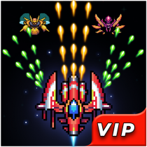 Galaxy Shooter : Falcon Squad Premium  or Android APK MOD (Unlimited Money) Download for android