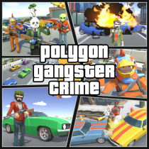 Grand City Theft War: Polygon Open World Crime 2.1.7 APK Free Download MOD for android