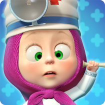 Masha and the Bear: Free Animal Games for Kids  4.0.7 APK MOD (Unlimited Money) Download for android