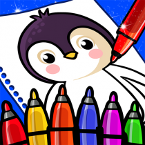 Happy Coloring Book Learn Paint : Coloring Games 0.13 APK Free Download MOD for android