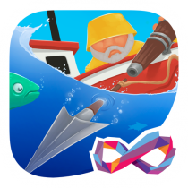 Harpoon FRVR Spear Fishing Gone Wild 1.3.15 APK MOD (Unlimited Money) Download for android
