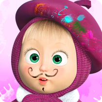 Masha and the Bear: Free Coloring Pages for Kids 1.7.6 APK Free Download MOD for android