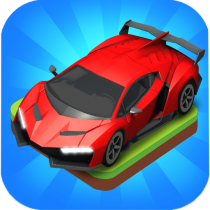 Merge Car game free idle tycoon  1.2.34 APK MOD (Unlimited Money) Download for android