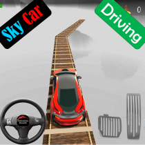 Sky Car Driving Stunt Impossible Track 1.10 APK Free Download MOD for android