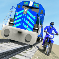 Bike vs. Train – Top Speed Train Race Challenge 10.1 APK MOD (Unlimited Money) Download for android