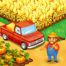 Farm Town Happy farming Day & food farm game City  3.51 APK MOD (Unlimited Money) Download for android