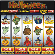 Halloween Slots 30 Linhas Multi Jogos  APK MOD (Unlimited Money) Download for android