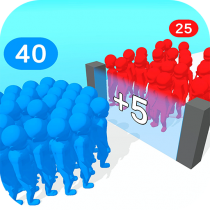 Crowd Multiplier 3D  APK MOD (Unlimited Money) Download for android
