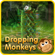 Dropping Monkeys 3D Board Game – Play Together.  APK MOD (Unlimited Money) Download for android