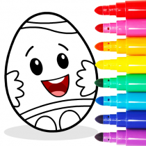 Easter Egg Coloring – Surprise Eggs Game For Kids  APK MOD (Unlimited Money) Download for android