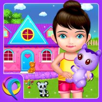 My Baby Doll House – Tea Party & Cleaning Game  APK MOD (Unlimited Money) Download for android
