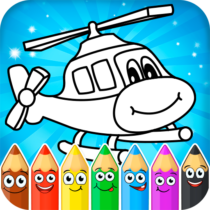 Coloring pages for children : transport  1.2.0 APK MOD (Unlimited Money) Download for android